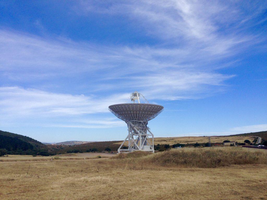 The Sardinia Radio Telescope, located in Sardinia, Italy. Credit: S. Fatigoni et al (2021)